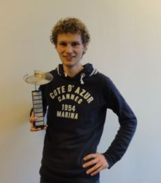 Junior Presentation Award 2012 for Ewoud Vos
