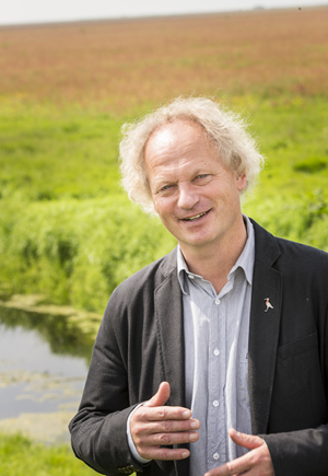 Prof. Theunis Piersma, photo: Ivar Pel/NWO