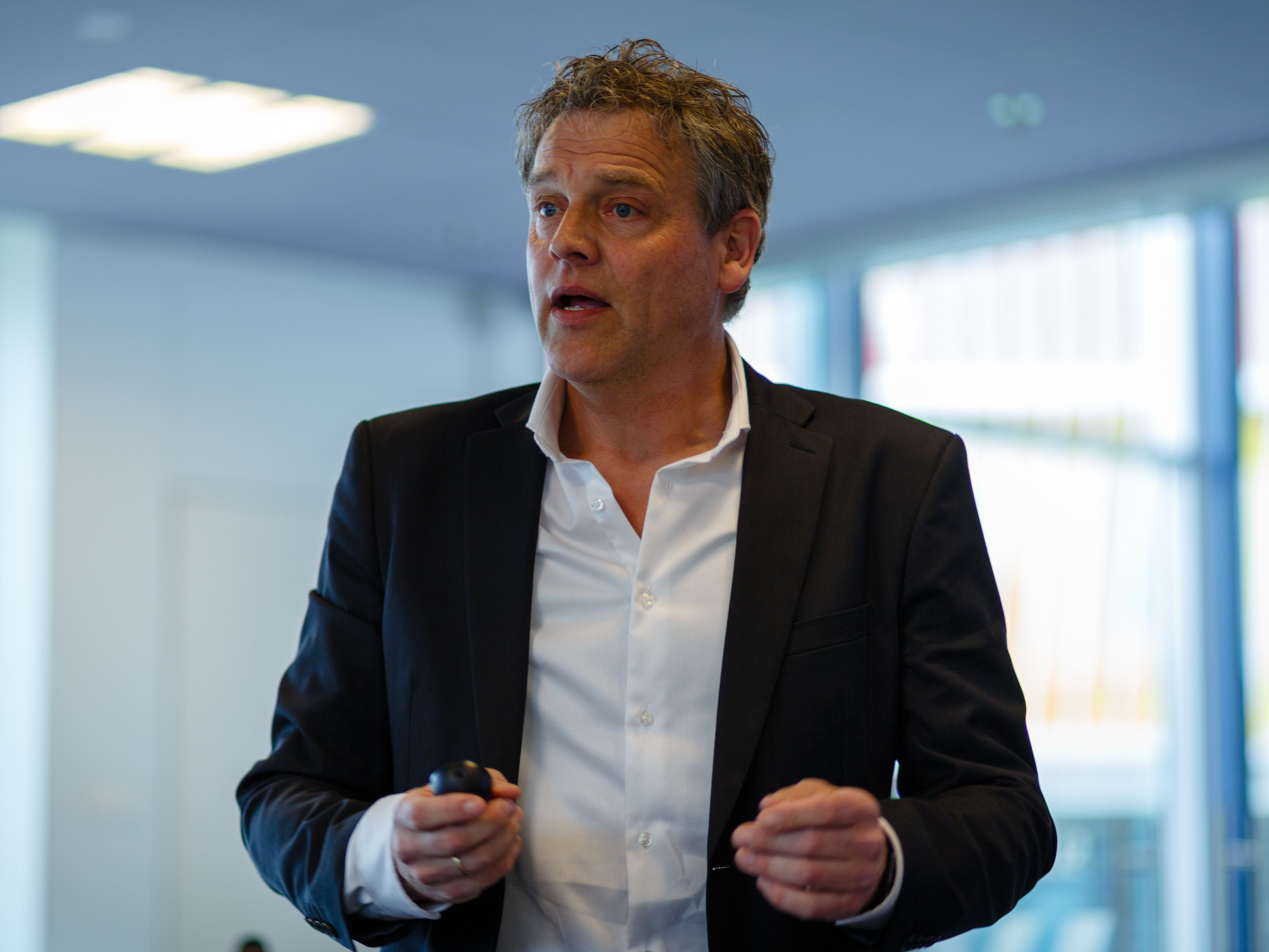 Bas Baalmans, projectleider Groningen Digital Business Centre