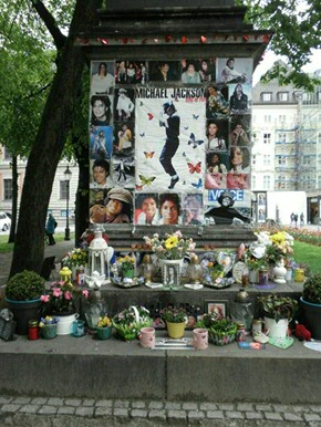 Michael Jackson Pilgrimage in Munich, Germany