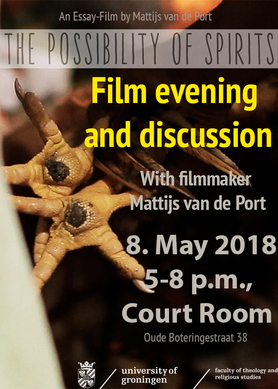 Film And Discussion The Possibility Of Spirits Calendar