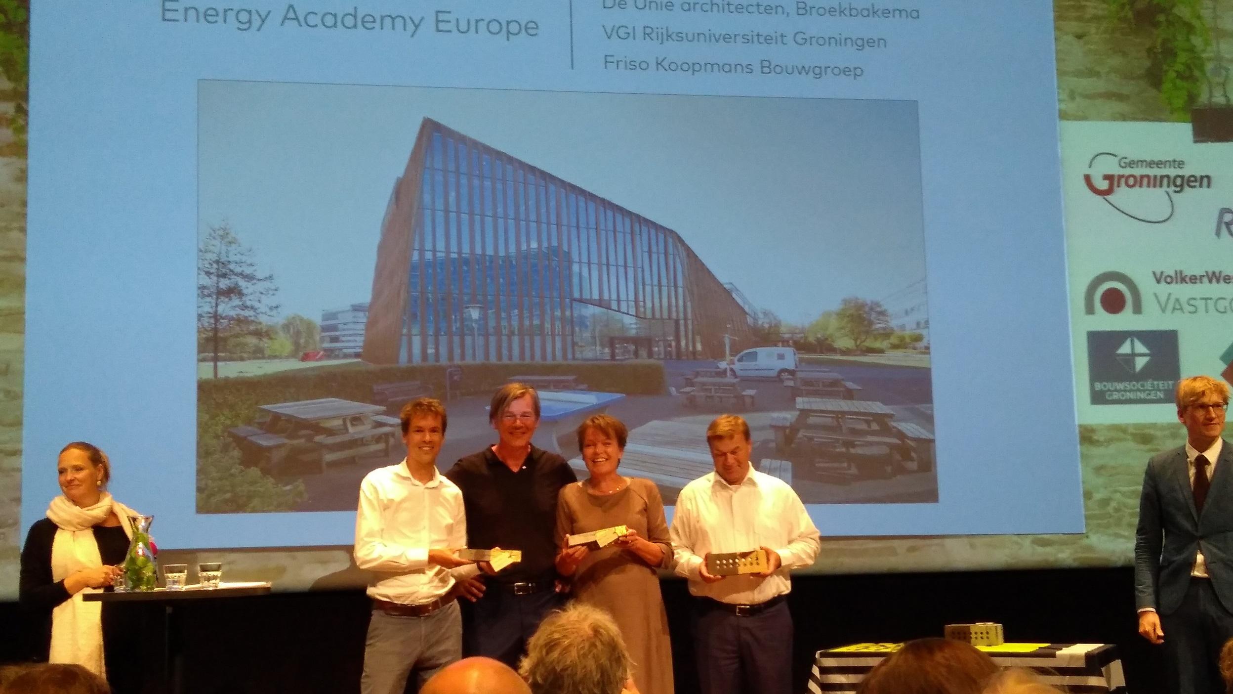 Mooiste Gebouw Van Groningen.Rug Gebouw Energy Academy Europe Mooiste Gebouw Van