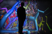 Scientific discovery using Virtual Reality: molecular visualisation in the Reality Cube