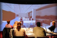 Interactive office design in the Reality Theatre