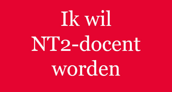 Opleiding tot docent NT2