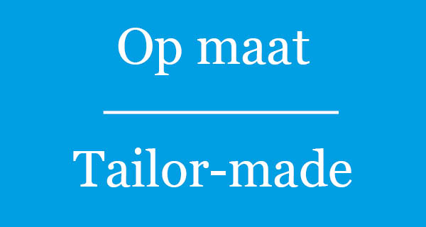 Tailor-made Dutch training
