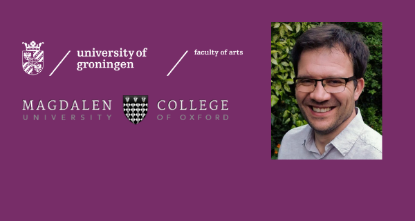 Sebastian Sobecki receives Visiting Fellowship at Magdalen College, Oxford