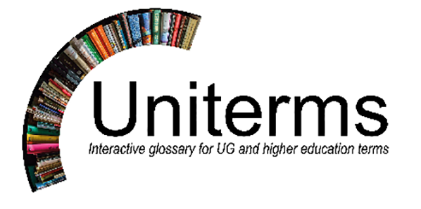 Uniterms - the glossary for UG and higher education terms