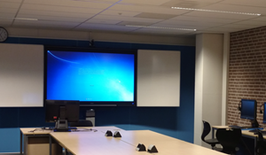Multimedia room with cTouch screen