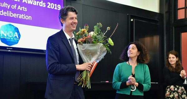 Lars Rensmann is the Faculty's Lecturer of the Year