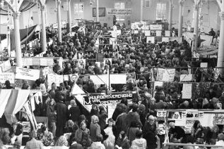 Student Introduction in the 1970's: Korenbeurs on the Vismarkt