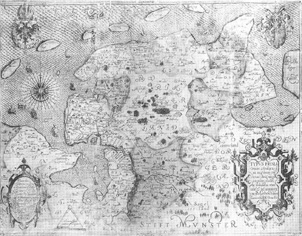 Map of East Friesland, by Ubbo Emmius, 1616. Click on map for enlargement