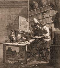 Een 17e eeuwse student