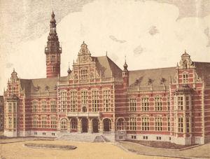 academiegebouw 1909