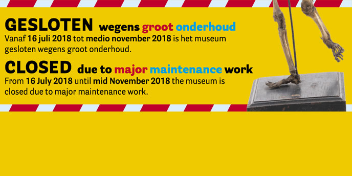 Temporarily closed due to major maintenance work