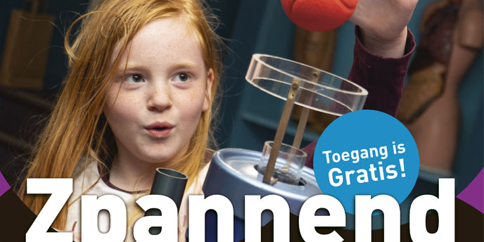 Visit Zpannend Zernike on 6 and 7 October and go backstage in the world of science and technology!
