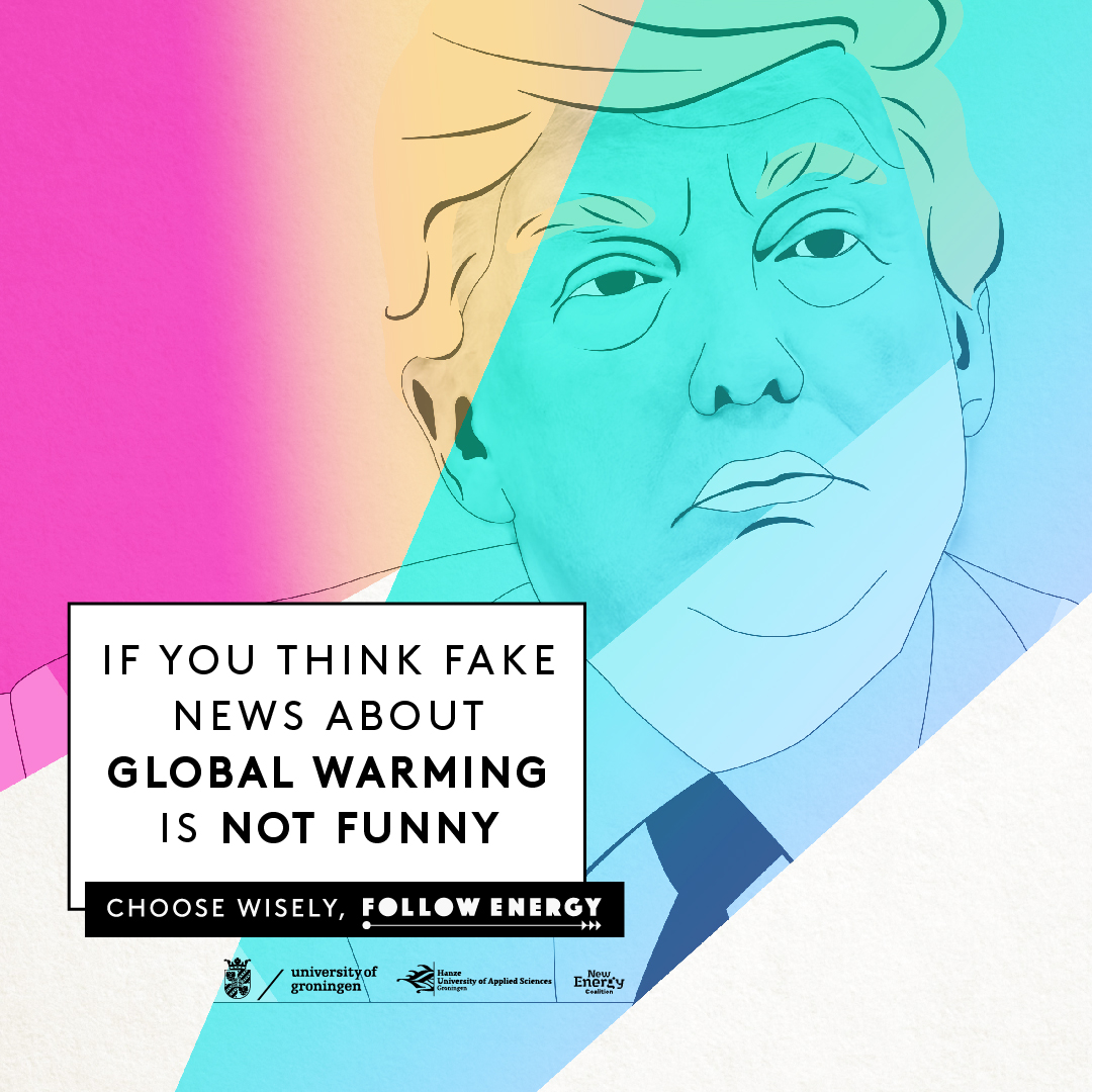 If you think fake news about global warming is not funny