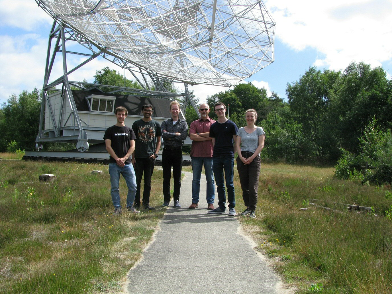 One of the student teams of the HTSM Honours Master summer school