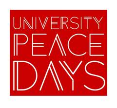 university peace days logo