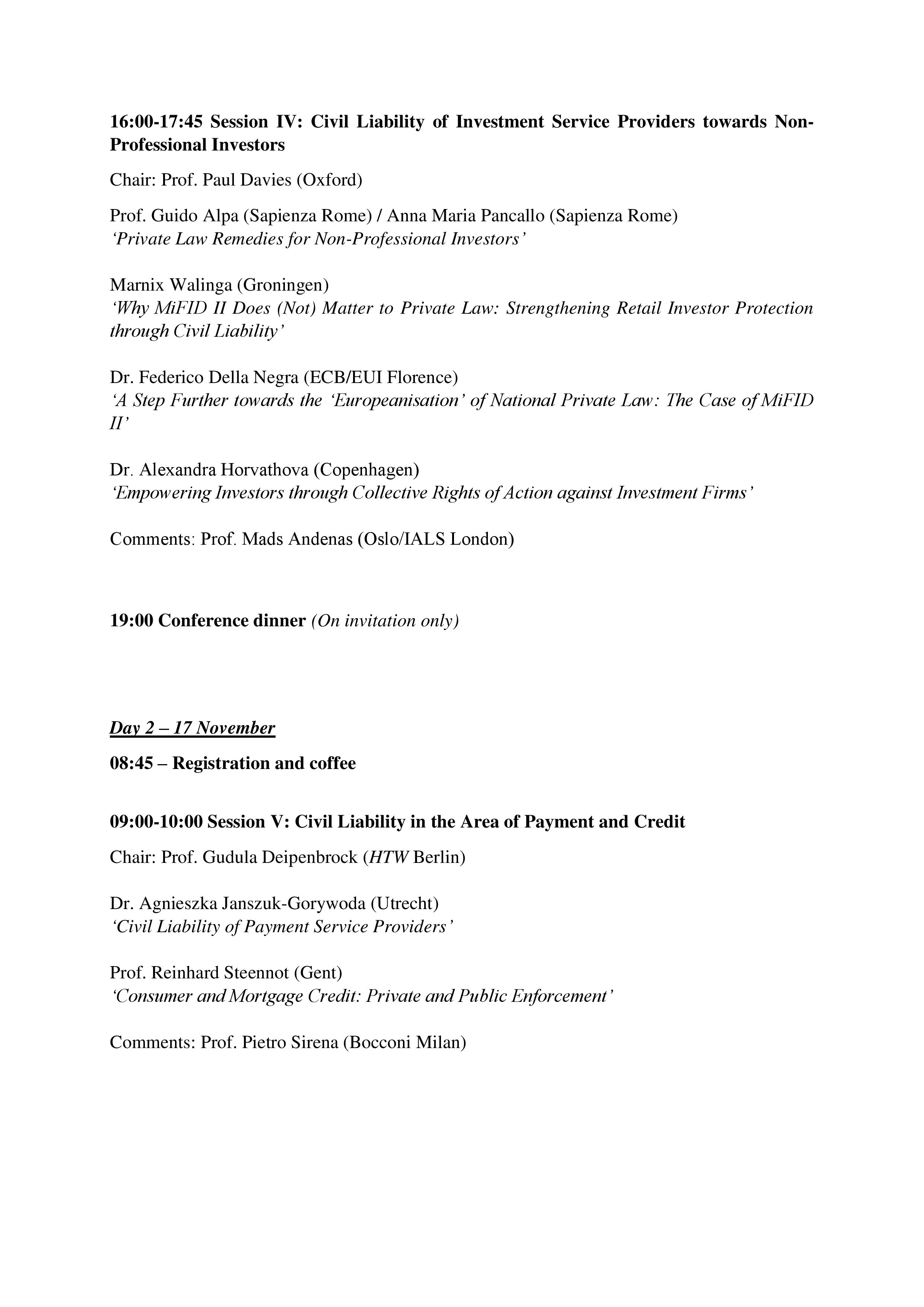 Conference Programme Page 3