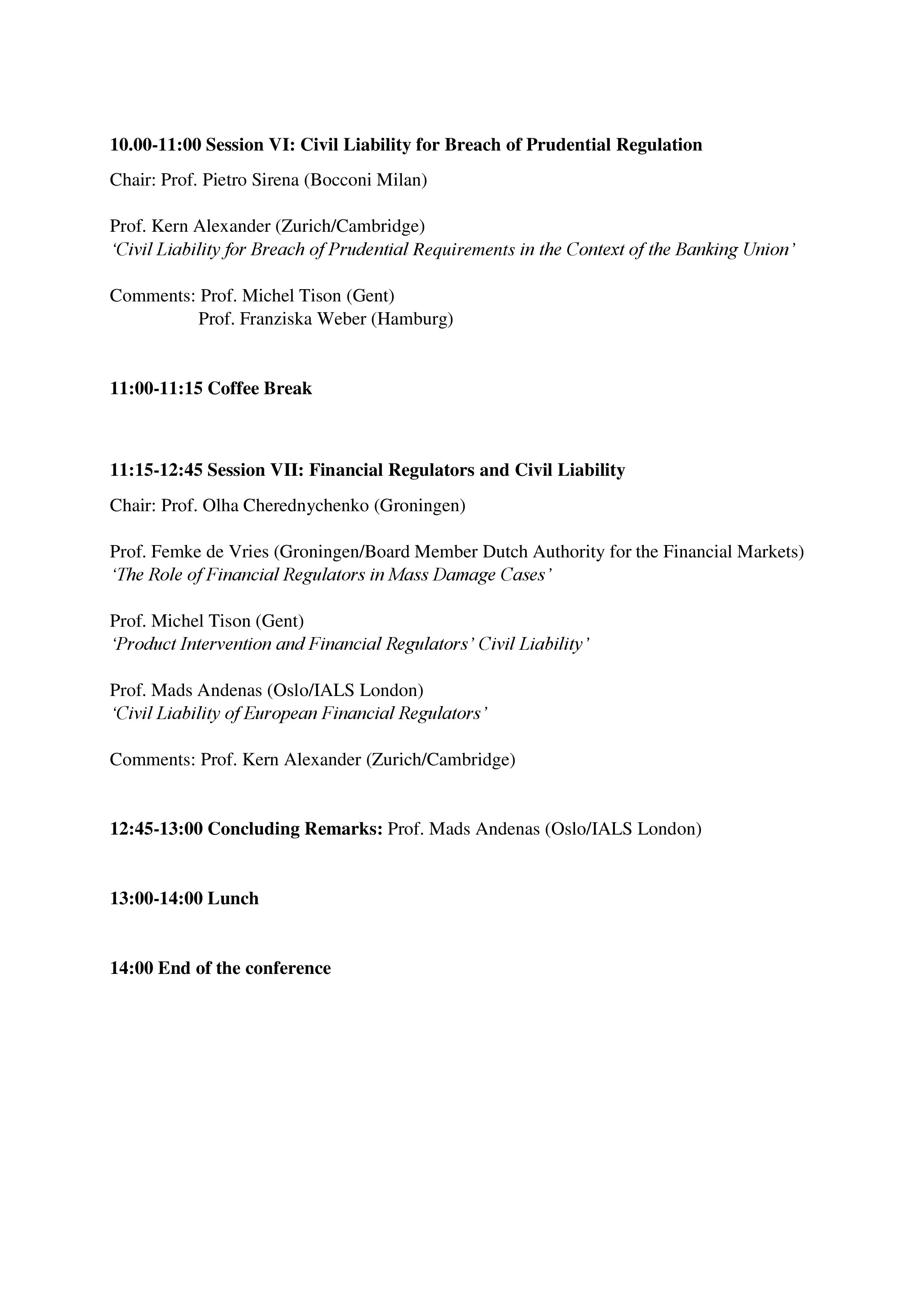 Conference Programme Page 4