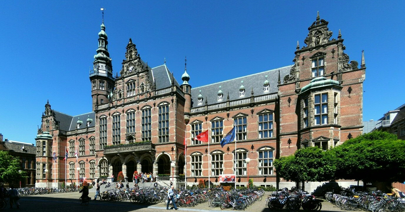 The Academy Building of the University of Groningen is located at the Broerstraat 5, 9712 CP Groningen