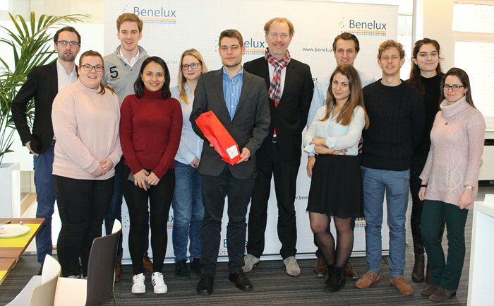 LLM Energy and Climate Law Students visit Brussels