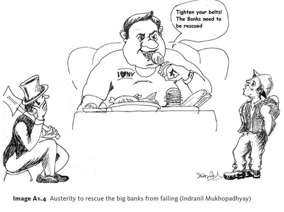 Austerity to rescue the big banks from failing (Indranil Mukhopadhyay)