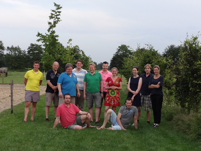 End of year meeting in Wapse (2015)