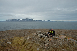 Fieldwork on Spitsbergen
