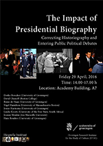 Poster workshop Presidential Biography