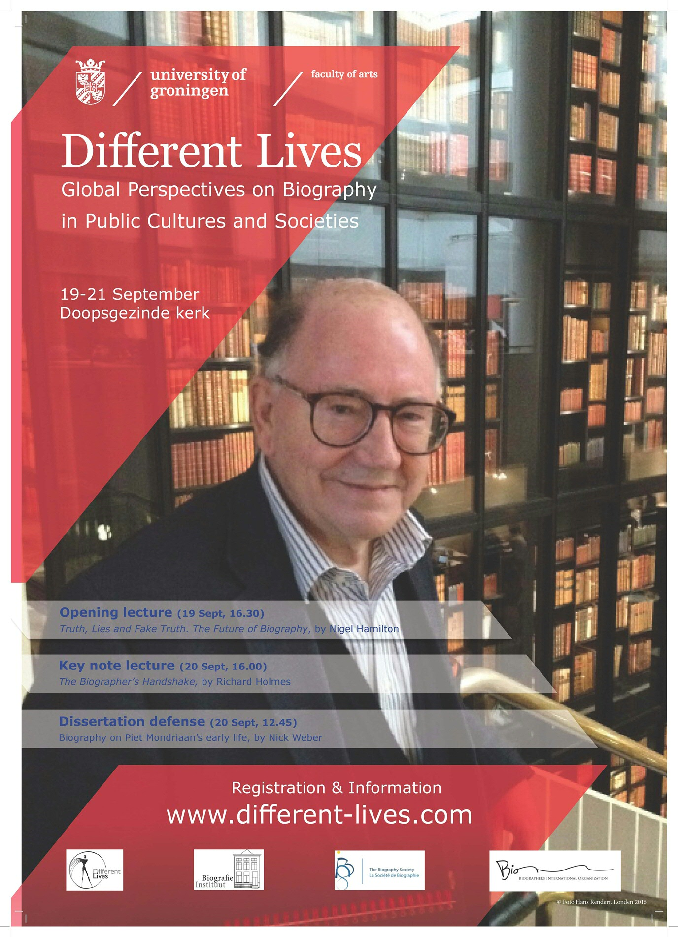 poster conferentie Different Lives