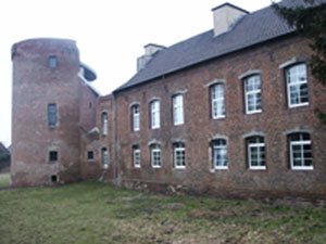 Schloss Hambach, where Jan Wier wrote his most famous book.