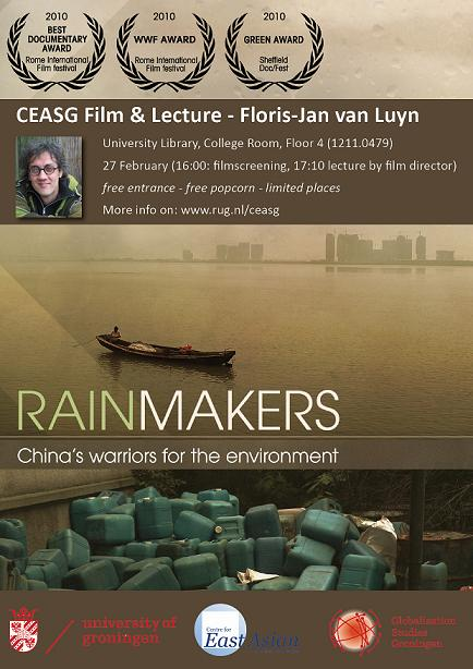 Rainmakers: China's warriors for the environment