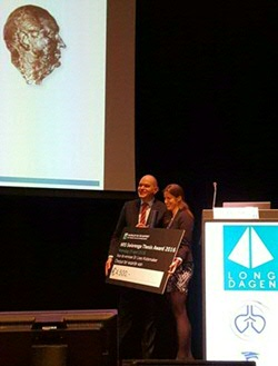 Loes Kistemaker received NRS Swierenga Thesis Award