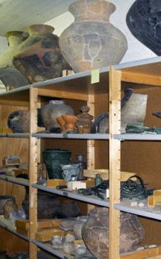 The archaeological collection