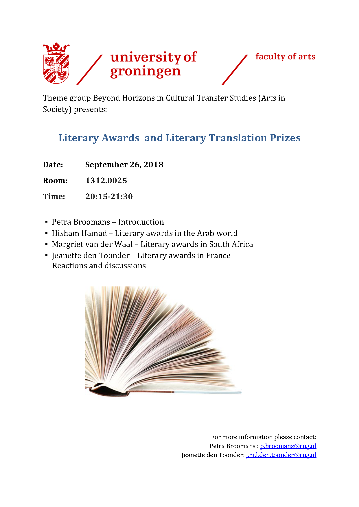 French literary prizes 2018