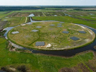 The superterp is the centre piece of the LOFAR radio telescope. Image credit: ASTRON