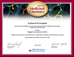 Highly cited award