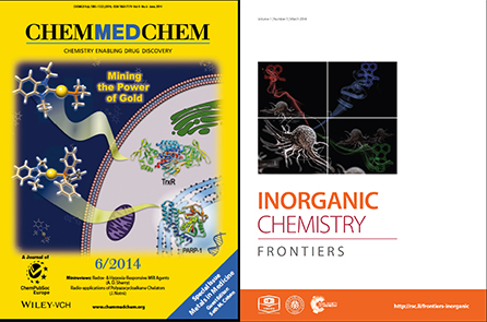 Cover ChemMedChem and Inorganic Chemistry Frontiers