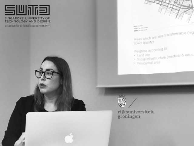 "C. Yamu gave a talk at SUTD: ""Smart Cities –Smart Citizens. The Social Side of Data-Driven Models in Urban Planning and Design"""