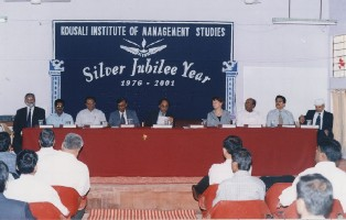 The offical start of the International Diploma Course in Reproductive Health Management at the Kousali Institute of Management Studies (KIMS) of KUD in February 2001.