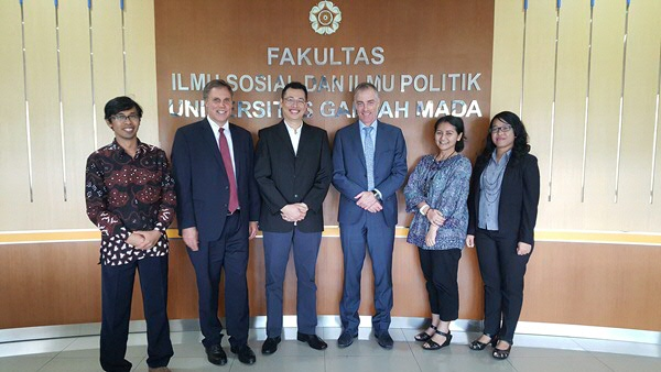 Visit of Dean Oscar Couwenberg (Spatial Sciences) and Prof. Ronald Holzhacker (Director, SEA ASEAN) to Gadjah Mada University