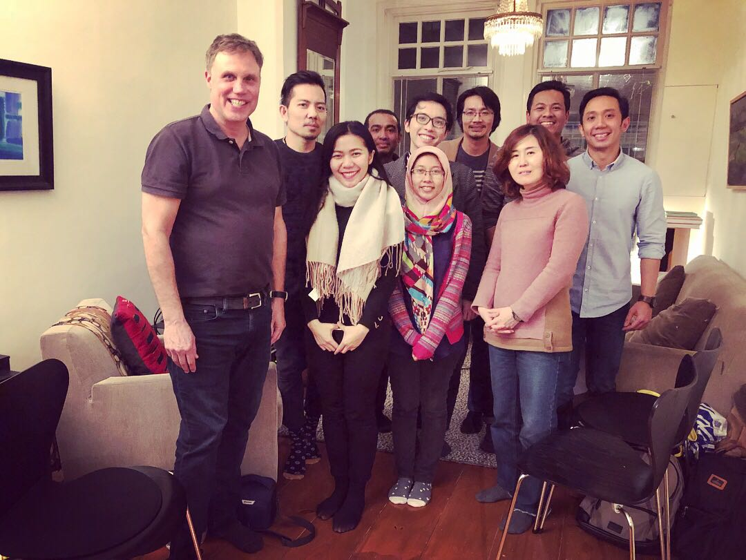 Februari 1, 2018 - Meeting of SEA ASEAN research team in Groningen