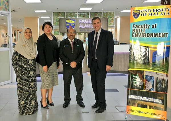 RUG FSS / SEA ASEAN Delegation at the Faculty of Built Environment
