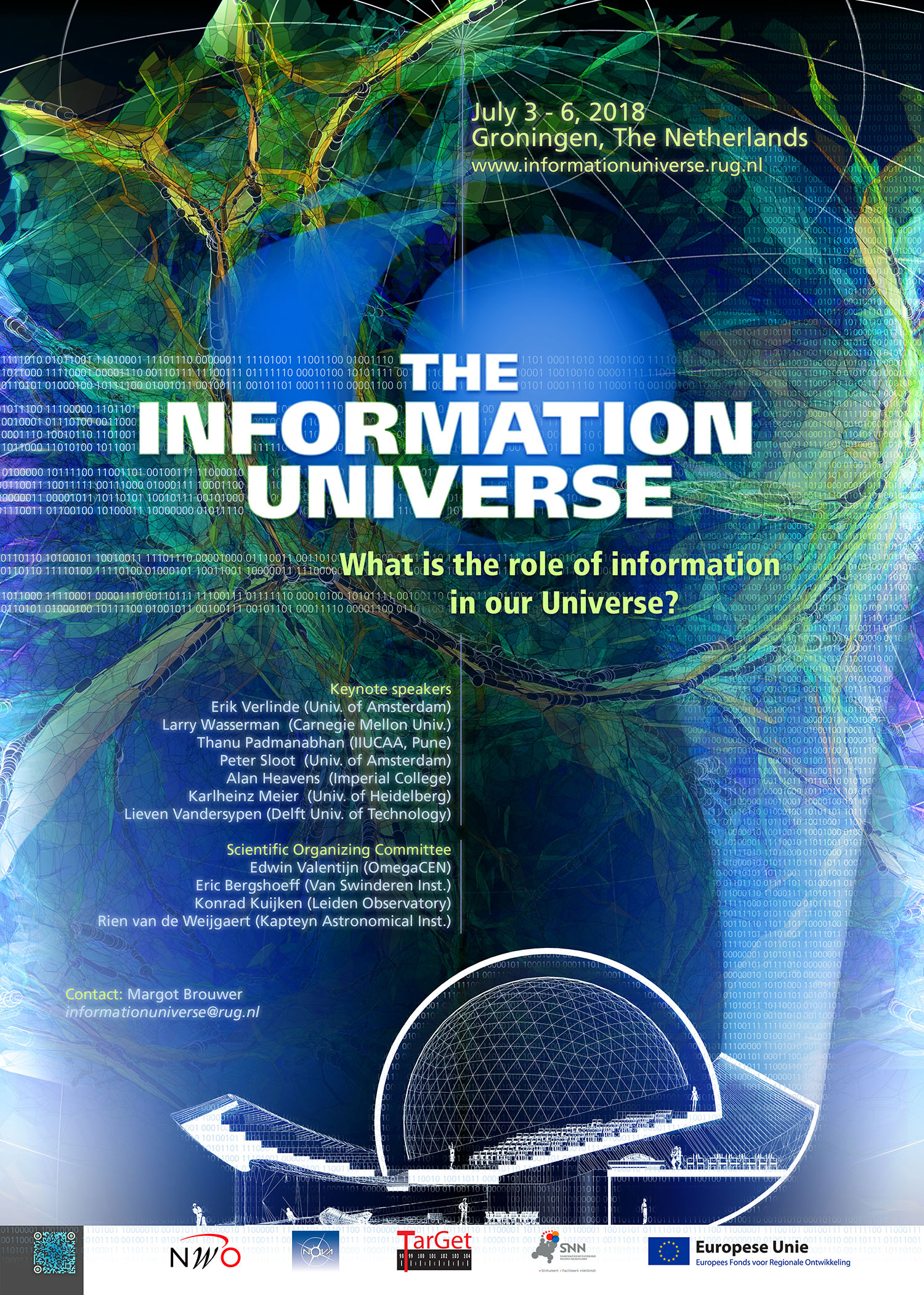 July 3-6, 2018: The Second Information Universe Conference