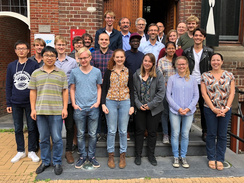 A group picture NL-eEDM team (september 2018)