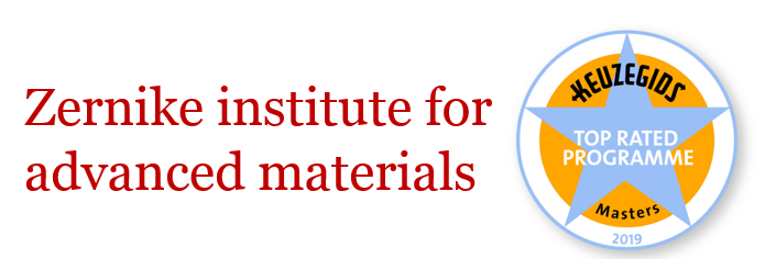 This programme is organized by the Zernike Institute for Advanced Materials