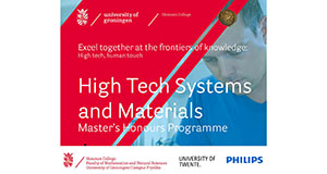 High Tech Systems and Materials Honours Master