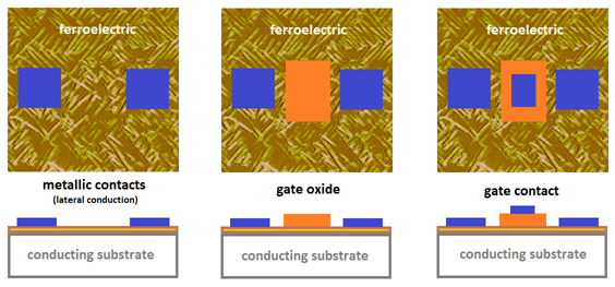 Ferroelectrics as constituents materials for neuromorphic devices